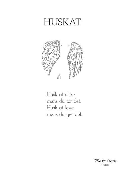 Piet Hein - Gruk - HuskAt