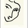 Henri Matisse NADIA AU VISAGE PENCHÉ