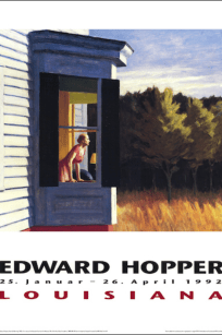Edward Hopper - Cape Cod Morning - Louisiana 1992