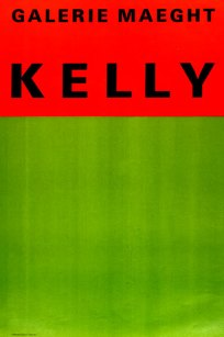 Ellsworth Kelly Orange et vert gellerie maegt 1954