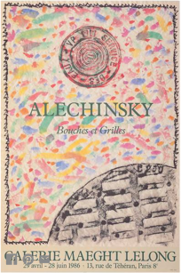 Alechinsky Bouches - Grilles 1