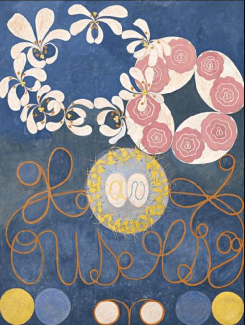 Hilma af Klint: Childhood, The Ten Largest, No.1, Group IV, 1907