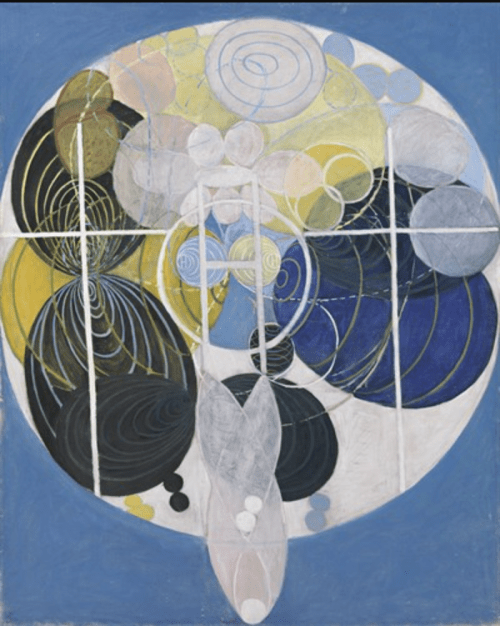 Hilma af Klint - The Large Figure Paintings, No.5, Group III, 1907