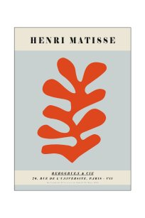 henri matisse orange coral