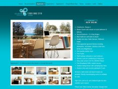Accommodation site in Rye, Victoria