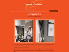 Homewares and Interior design client