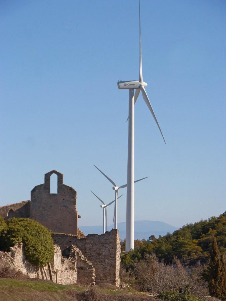 Déclaration spécifique pour une éolienne