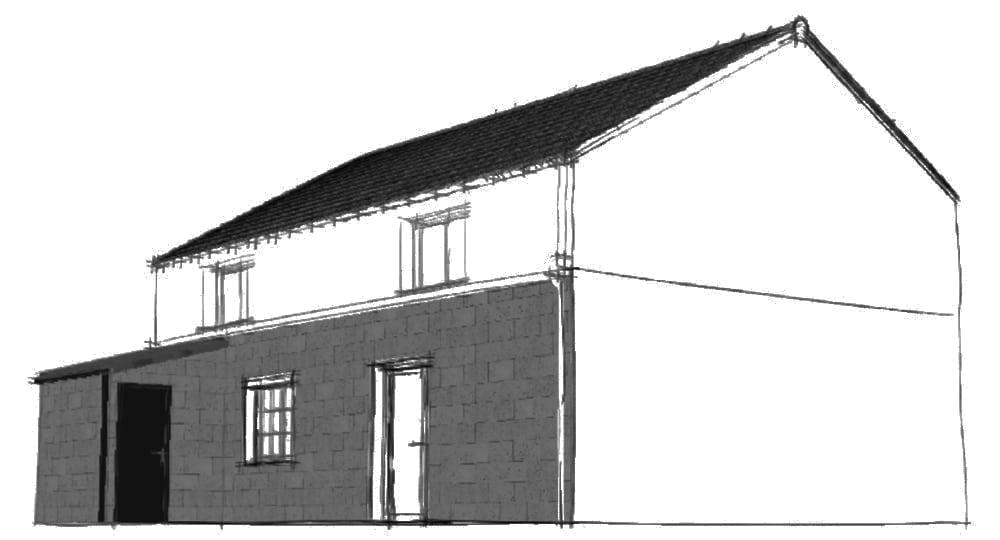 Esquisse Gironde déclaration préalable rénovation