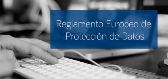 Reglamento europeo sobre tratamiento de datos personales