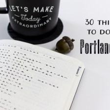 Portland Bucket List