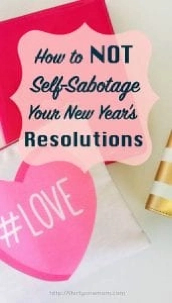 How to not self-sabotage your New Year's Resolutions and achieve your goals and dreams. Learn how to keep the momentum of the New Year going all year long.