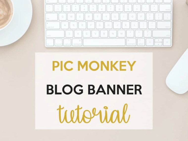 Create a Blog Banner With Pic Monkey