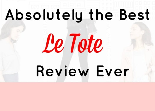 LeTote Review