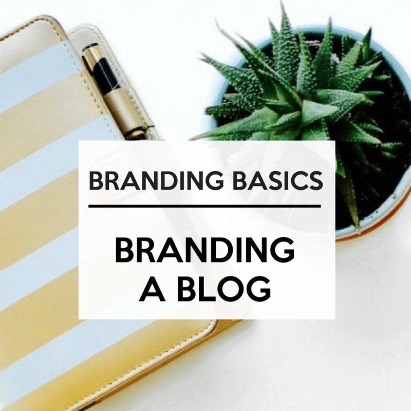 Blog Branding