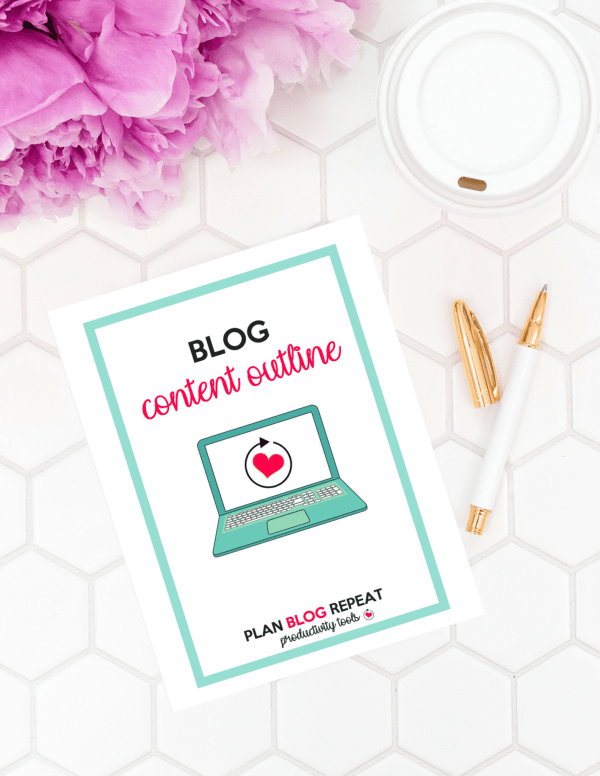Blog Content Outline