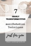 Manifestation Techniques To Transform Your Life