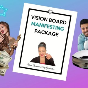 Vision Board Manifesting Package