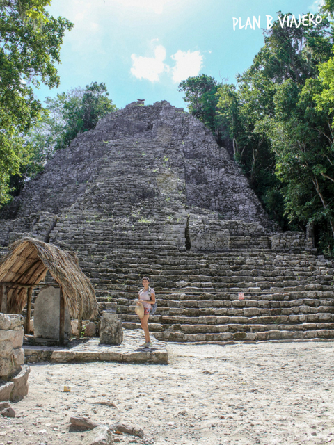 plan b viajero, lugares increíbles de Quintana Roo poco turísticos, zona arqueologica de coba