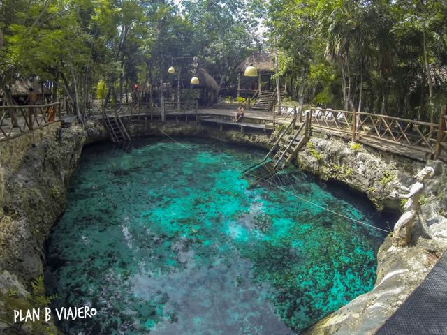 plan b viajero, mejores cenotes para visitar en Tulum, cenote zacil ha tulum