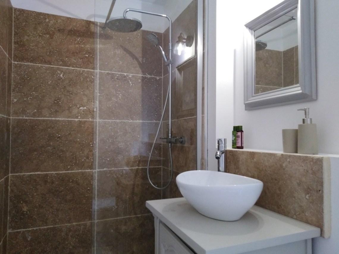 Rosette salle de douche