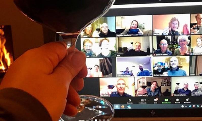 Dégustation virtuelle de vin