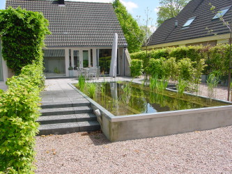 Villa tuin, Dorst