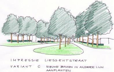 impressie Liessentstraat var. C