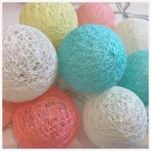 Esferas de lana