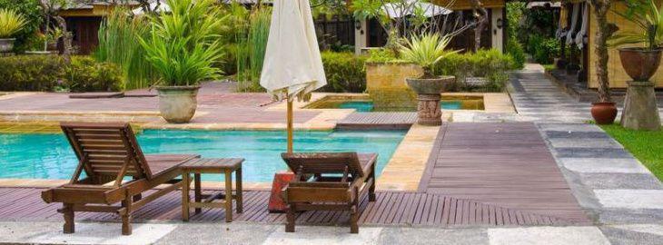 jardin autour d une piscine planter