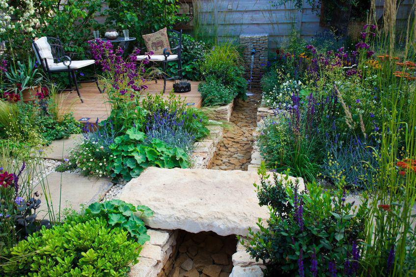 creer un ruisseau au jardin