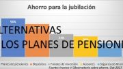Alternativas al Plan de Pension