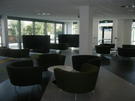 Reception / meeting area @ Software Centre