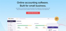 Sign up for a free trial of Zoho Books - cloud accounting software for small business