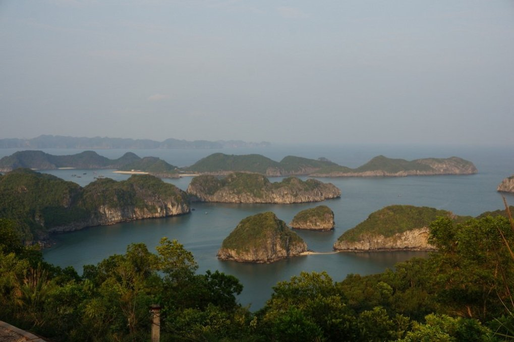 Viewpoint from Cannon Fort, Cat Ba - Vietnam