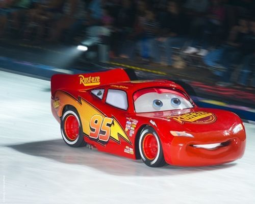 Disney on ice Mundos Encantados cars