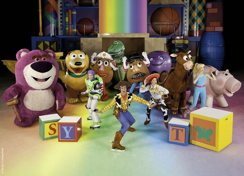 Disney on ice Mundos Encantados toy story