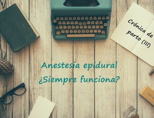 anestesia epidural parto 35 semanas