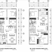 Plano arquitectónico 3
