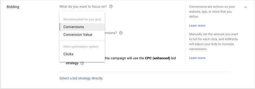 Convers O Google Ads