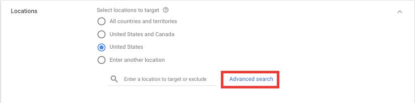 Localiza O Google Ads