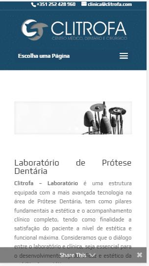 propaganda Para Laboratório de Prótese Dentária