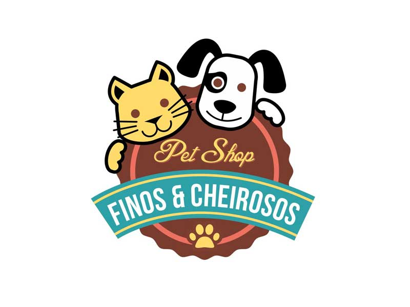 logotipo marketing pet shop