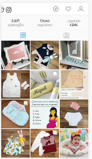 marketing digital para loja de roupas de bebê