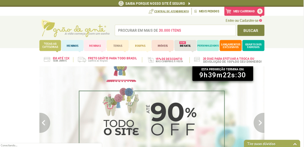marketing digital para loja de roupas infantil