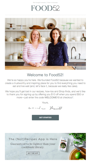 Email De Boas Vindas Marketing
