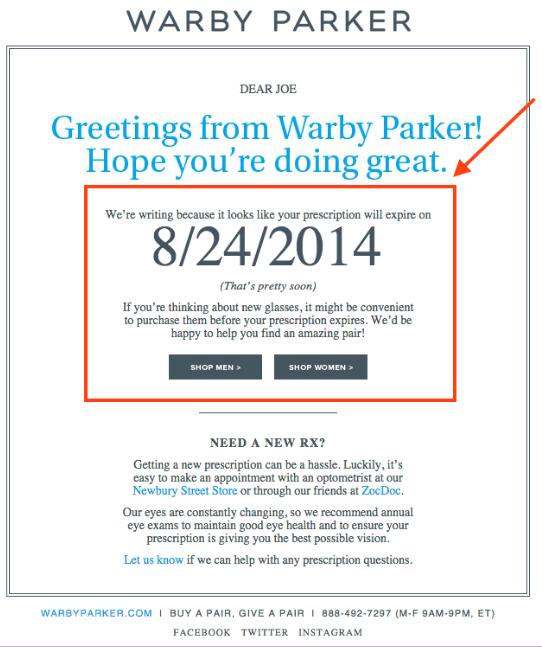 Exemplo De Email Marketing Eficaz 1