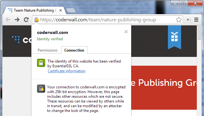 1554934111 3755 Chrome Mixed Content Warning