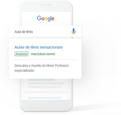 Anunciar no Google Planos a partir de R0/mês
