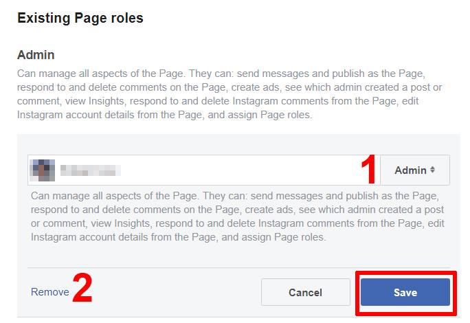 como adicionar administrador na página do facebook
