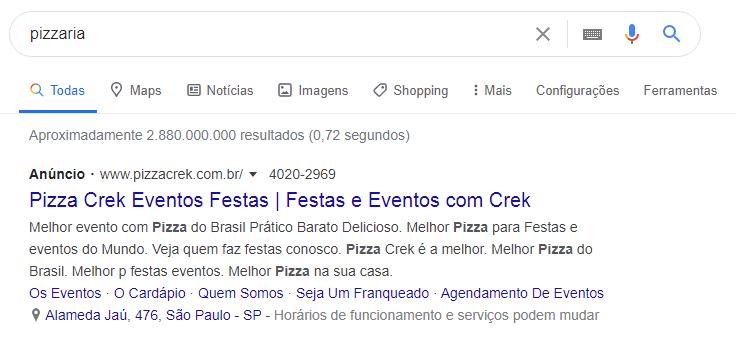 Divulgar Pizzaria 1